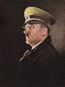 Adolf Prints - Adolf Hitler, Ca. 1930s Print by Everett