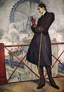 Overcoat Framed Prints - Adolfo Best-maugard Framed Print by Granger