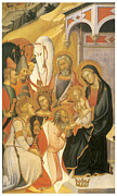 Adore Posters - Adoration of the Magi Poster by Bartolo Di Fredi