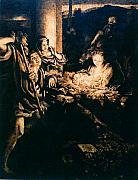 Paper Pyrography - Adoration of the Shepherds by Dino Muradian