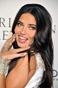 Launch Party Prints - Adriana Lima  At Arrivals For Victorias Print by Everett