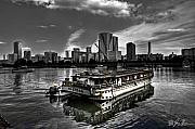 Selective Coloring Originals - Adrift On A Sea Of Spirits by Jon  Sheer