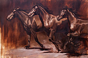 Impressionistic Horse Paintings - Advance by JQ Licensing