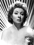 Garson Framed Prints - Adventure, Greer Garson, 1945 Framed Print by Everett