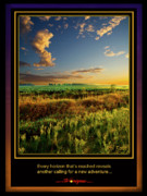 Inspirational Poster Framed Prints - Adventure Framed Print by Phil Koch