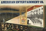 Military Pictures Prints - Advertisement Of The American Print by Everett