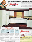 Domestic Interior Posters - Advertising: Kitchen, 1947 Poster by Granger