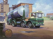 Tanker Posters - AEC Air Products Poster by Mike  Jeffries