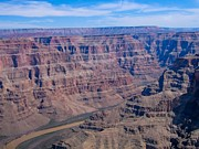 Sophie Vigneault Photos - aerial Grand Canyon by Sophie Vigneault