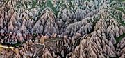 Aerial View Landscape Print by Julio López Saguar