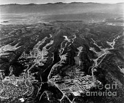 Alamos Photo Posters - Aerial View Of Los Alamos Site & Poster by Los Alamos National Laboratory