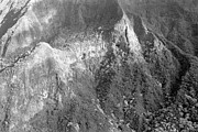 Featured Art - Aerial View Of Mountain by Thinkstock Images