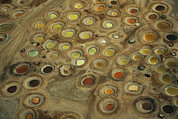 Senegal Photos - Aerial View Of Multi-colored Dyeing by Bobby Haas