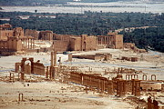 Palmyra Photos - Aerial View Of Palmyra by Joe & Clair Carnegie / Libyan Soup