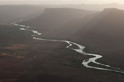 Filtered Light Prints - Aerial View Of The Colorado River Print by Pete Mcbride