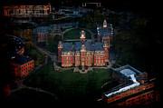 Dan Friend - Aerial Woodburn Hall in evening