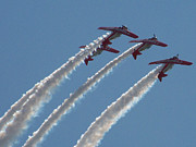 Airplanes Photos - Aero Shell Team by Julie  Grace