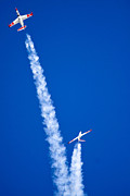 Bluesky Framed Prints - Aerobatics Display Framed Print by Nir Ben-Yosef