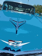 Car Culture Posters - Aerodynamic Cruisin For American Iron Poster by Carolina Liechtenstein
