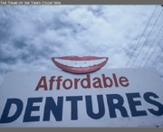 Pop Surrealism Photo Originals - Affordable Dentures by Billy Tucker