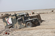 Dirt Roads Photos - Afghan National Army Combat Vehicle by Stocktrek Images