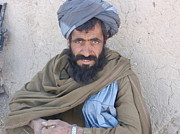 Afghani Elder II Print by David Durkin