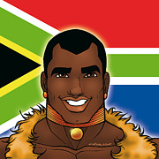 Gay Digital Art Originals - Africa by David Cantero
