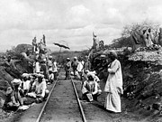 1900s Art - AFRICA: RAILWAY, c1905 by Granger