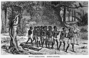 Chained Prints - Africa: Slave March Print by Granger