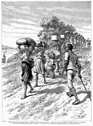Chain Gang Prints - Africa: Slave Trade, 1892 Print by Granger