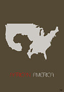 Usa Map Digital Art - African America Poster by Irina  March