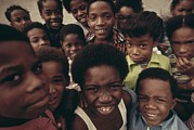 African Americans Prints - African American Children On The Street Print by Everett