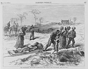 African-americans Art - African American Gathering The Dead by Everett