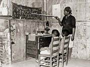 Discrimination Photo Prints - African American Mother Teaching Print by Everett