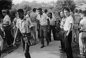 1950s Candids Photos - African American School Integration by Everett