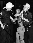 Discrimination Prints - African American Who Has Been Shot Print by Everett
