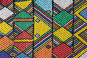 African Beadwork 1 Print by Neil Overy