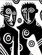 African Couple Print by Robert Daniels