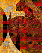 For The Art Collector Prints - African Influence Print by Ann Powell