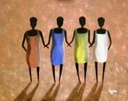 Women Together Originals - African Ladies by Edwin Alverio