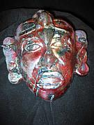 Featured Ceramics - African Mask by Michael Anthony-Nagy