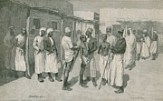 Arabs Photos - African Slave Trade Continued by Everett