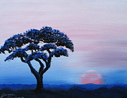 James Dunbar - African Tree At Sunset 7