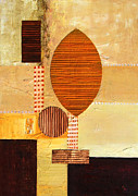 World No. 1 Paintings - African tribal markings by Andreas Wemmje