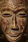 African Tribal Mask. Print by John Greim