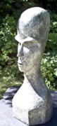 African Sculptures - African Woman by Michael Rutland