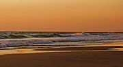 Beaches Framed Prints - After A Sunset Framed Print by Sandy Keeton