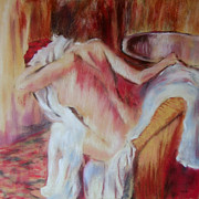 After Degas After The Bath Print by Jennifer  Blenkinsopp