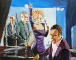 Band Painting Originals - After Hours by Judy Kay