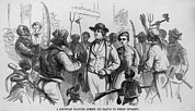 Abolition Art - After John Browns Harpers Ferry Raid by Everett